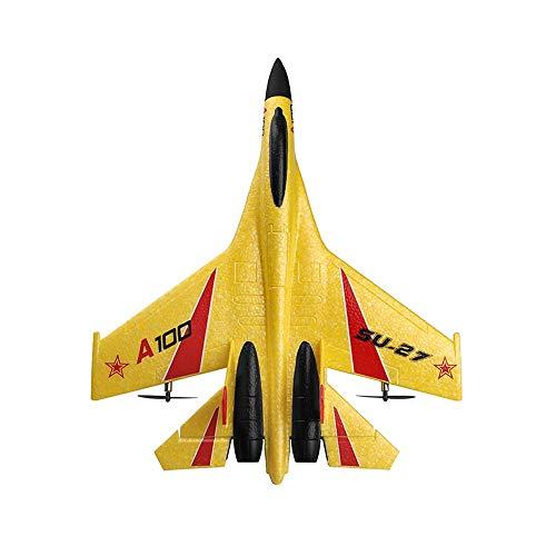 Kikioo 2.4G RC Aereo rtf di Quadcopter Glider Airplane 3CH Su-35 Regali di controllo aereo drone remoto Raptor Modello giocattolo Drone EPP telecomando RC Kids Toy Jet Fighter Aircraft modello for pri