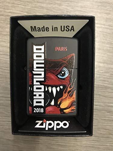 Zippo Serie Limitata Festival Download Parigi 2018diablorock