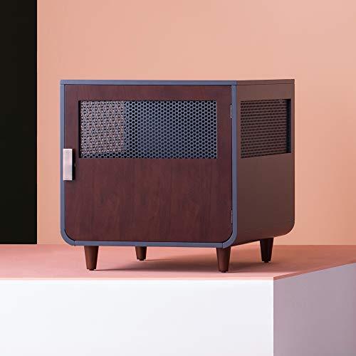 Staart - Radius Wooden Dog Crate - Mocha Walnut - Medium Basic Crates