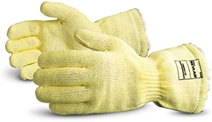 Chemical Resistant 24 Length Superior Glove Works Ltd L6043-10 Superior L6043 Barrage Latex Unlined Heavyweight Glove Pack of 1 Pair 43 mil Thickness Black Work Size 10 24 Length