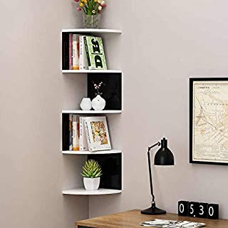 M/s Excellent Wooden Enterprise Engineered Wood Bookcase ,Glossy Finish ,Set Of 1,Black