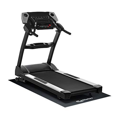 Velotas High Density Equipment & Treadmill Mat, Black, 2.5' x 6'