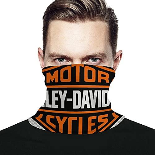 Best-design Harley Davidson - Calentador de cuello de microfibra para hombre y mujer