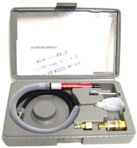 (Best tools) AIR MICRO GRINDER 56000 RPM TOOLS HIGH SPEED TOOL KIT PENCIL TYPE DIE GRINDER