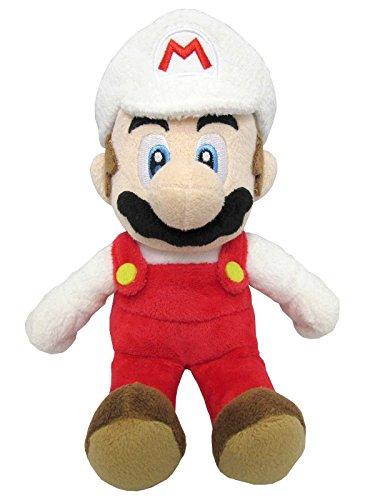 Super Mario ALLSTAR COLLECTION 07 Stofftier Kuscheltier Plüsch Figur Plüschtier: Feuer-Mario 24 cm (S)