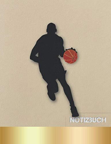 NOTIZBUCH: | GRAFIKPAPIER| Basketball-Notizbuch | (8.5