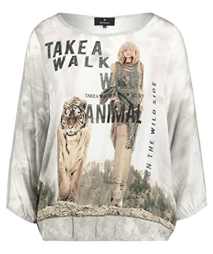 MONARI dames blouse tijgerprint 405334