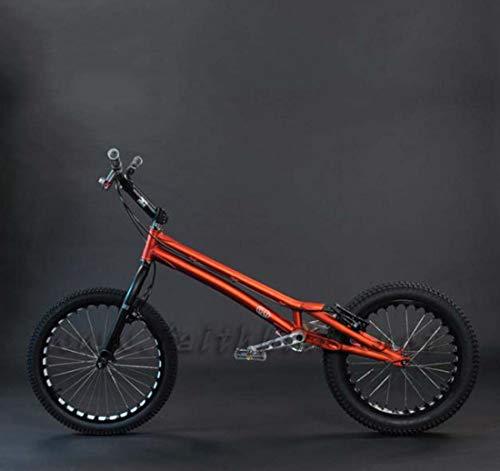 AISHFP Calle Adulto Bike Trial, 20 Pulgadas de la Calle subiendo adecuados Fantasía Escalada de Bicicletas para el Principiante Nivel para Jinetes avanzados de Biketrial,A