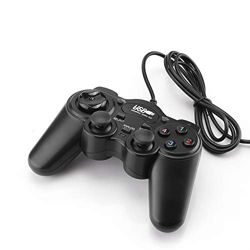 Tiamu USB Wired Gamepad Joystick USB 2.0 Shock Joypad Gamepads Game...