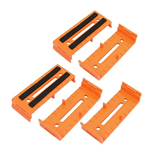 X-DREE 5Pcs ABS 110mmx40mmx20mm Cable Line Holder Wire Organizer Orange for Office (6f7fd3fb-a222-11e9-8d7c-4cedfbbbda4e)