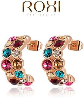 Imitate regalo di natale Roxi Genuine cristalli austriaci Orecchini regalo per fidanzata è bellissima fatta a mano puro 20...