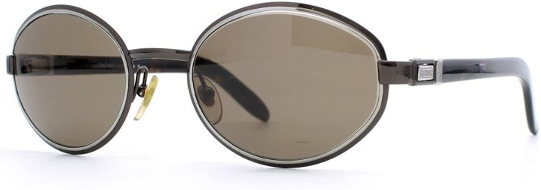 Gianfranco Ferre 469 8JU Black and Silver Authentic Women Vintage Sunglasses