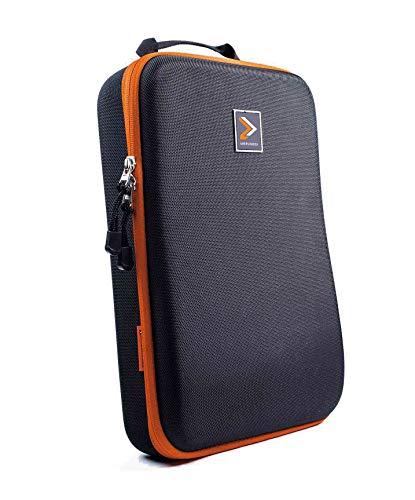 IAMRUNBOX IAMRUNBOX Hemdentasche - Kleidertasche, Kleidersack, Koffer Organizer + gratis Faltschablone - Doublepack (orange)