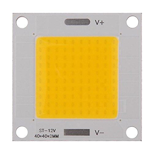 Broadroot Puce LED puissance Puce DIY DC12–14 V 50W COB LED Puce intégrée Panneau lumineux ampoule pour spot DIY