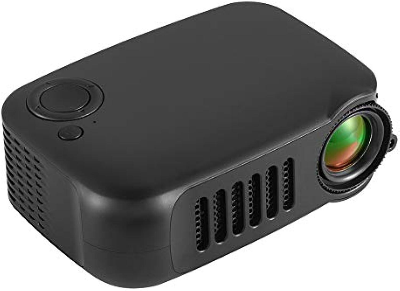 Yaoaomon A2000 proyector Mini Pico para el hogar 1080P HD proyector HDMI USB múltiple 220V EU