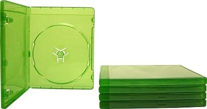 (5) موارد بازی ویدیویی جایگزین 12 میلی متری - سبز شفاف - سازگار با XBOX One