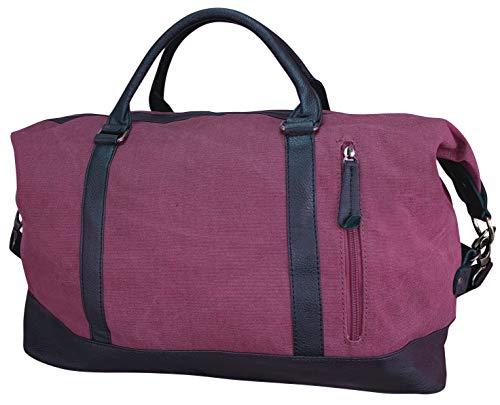 Canvas sporttas reistas weekender handbagage groot OMHANG TAS