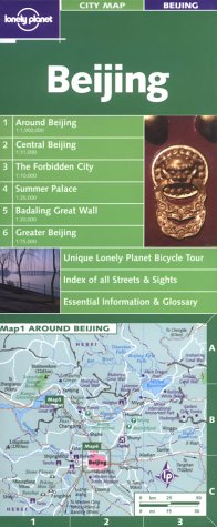 Lonely Planet Beijing City Map (Maps & Atlases)