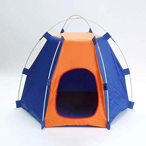 ZXL kat nestdozen kat nestbak huisdier tenten draagbare vouwen anti-ultraviolet regendicht waterdichte duurzame honden katten bed huis voor binnen outdoor reizen camping (kleur: blauw)