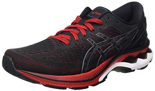 ASICS Mens Gel-Kayano 27 Running Shoe, Rouge VIF/Noir,42.5 EU
