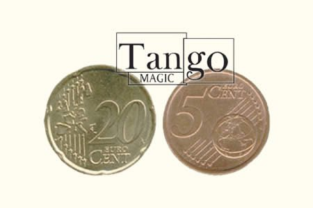 Copper and Brass (5c and 20c Euro w/DVD) by Tango - Trick...