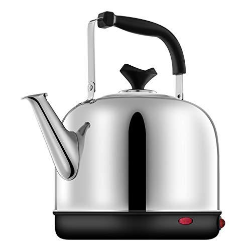 Bouilloire électrique conservation de la chaleur Bouilloire automatique intégrée sur les ménages de grande capacité 304 bouilloire en acier inoxydable thé en argent UOMUN (Size : 6L)