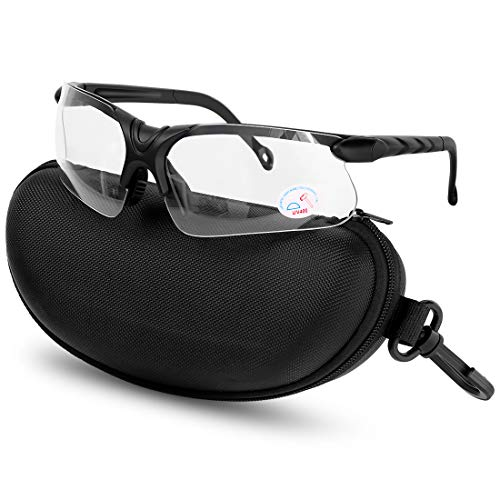 XAegis Shooting Glasses with Case Anti Fog Hunting Safety Glasses for Men Women