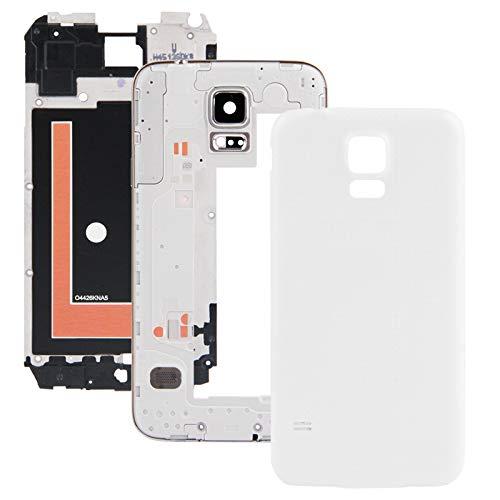 YPshell Reemplaz de Cubierta de Placa Frontal de cáscara Completa for Samsung para Galaxy S5 / G900 Reparación de la contraportada.