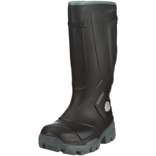 Viking ICEFIGHTER, Unisex-Erwachsene Gefütterte Gummistiefel, Schwarz (Black/Grey 203), 44 EU