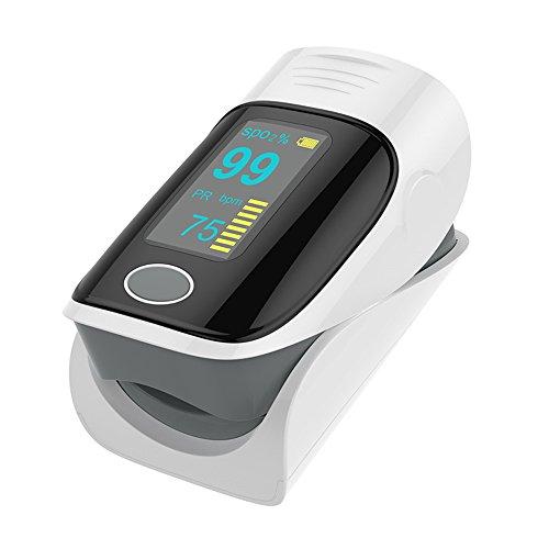 Verbandkasten XXGI Fingertip Pulsoximeter Und Pulsmesser Und Blutsauerstoffsättigung & -Erkennungs Finger Sauerstoff-Clip Spo2-Sensor Led-Display Mit Tragetasche (58X37X33Cm (22,83X14,57X12.99Inch)