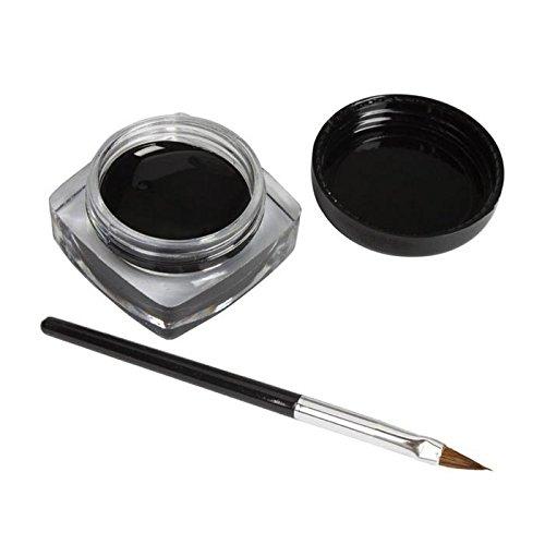 Eyeliner Cosmétique Imperméable Noir de Gel d'eyeliner POachers