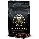 BERSERKER COFFEE Kaffebohnen extra stark 500 g | 237 mg Koffein auf 100 ml Kaffee | Chocolate Coffee Espresso Beans 500 g | Premium Robusta ganze Bohnen ohne Zusätze | Bohnenkaffee Vollautomat