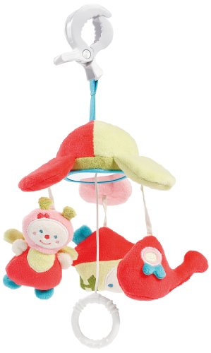 TOBOS Maybees Fehn Mini Mobile Musical avec Pince Rose