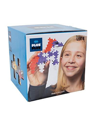 Plus Plus - Puzzle Mini 1200 Pezzi, Basic