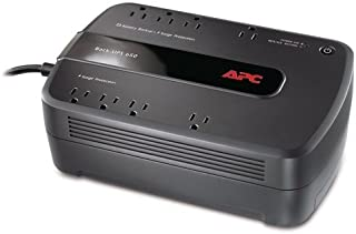 APC UPS Battery Backup & Surge Protector, 650VA, APC Back-UPS (BE650G1) (Renewed)