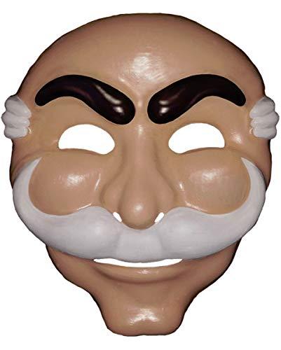 Horror-Shop Mr. Robot Maske für Fasching & Halloween