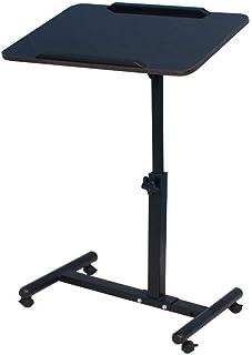 ZHAS Bureau d'ordinateur Portable Mobile Bureau d'ordinateur Portable Mobile - Table de conférence réglable à Levage de 60...