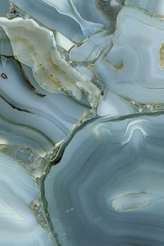 Geode Crystal Notebook - 188 pages: Geode Crystal Journal / Notebook - 188 college ruled pages - 6