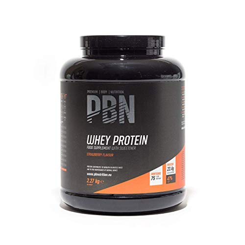 Premium Body Nutrition Whey Protein Powder 2.27kg Strawberry