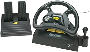 Mad Catz Dual Force Racing Wheel and Pedals for Playstation