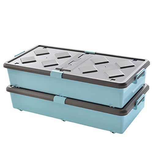 QARYYQ Wasmand, 2 tot 55 liter, met klapdeksel van kunststof