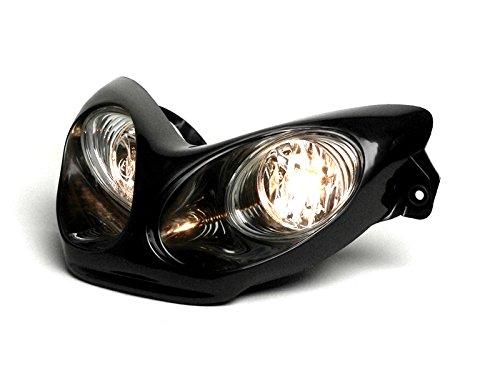 Scheinwerfer BGM Yamaha Aerox MBK Nitro 50 schwarz Lampe Licht Neuware