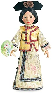 Chinese Qing Dynasty Outfit with Fan for 18 inch Slim Carpatina or AGFAT dolls
