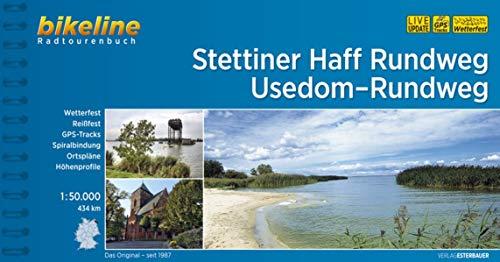 Stettiner Haff Rundweg • Usedom-Rundweg: 1:50.000, 434 km (Bikeline Radtourenbücher)