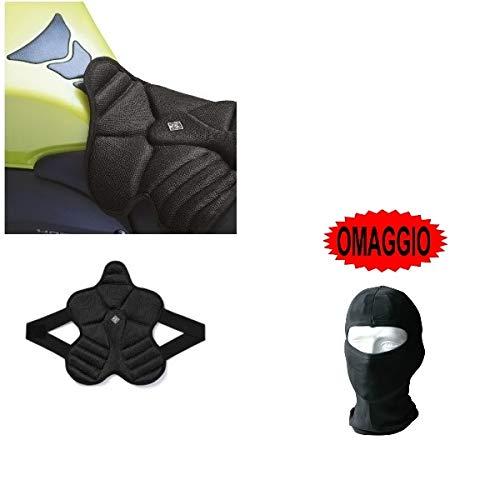 Compatible con Honda XL 125 V Varadero Cojín para sillín de moto Funda de malla Aero 3D Tucano Urbano 326-N2 Negro Cool Fresh 39 x 36 cm Grosor 2 cm 100% poliéster