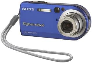 Sony Cybershot DSCP100/LJ 5MP Digital Camera with 3x Optical Zoom (Blue)