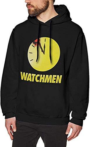 YeeATZ Watchmen Bloody Clock Hoodie Fashion Sweatshirts Black