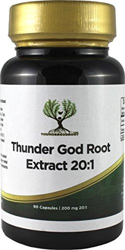Thunder God Vine Root 20:1 Capsules 200mg 90 Count
