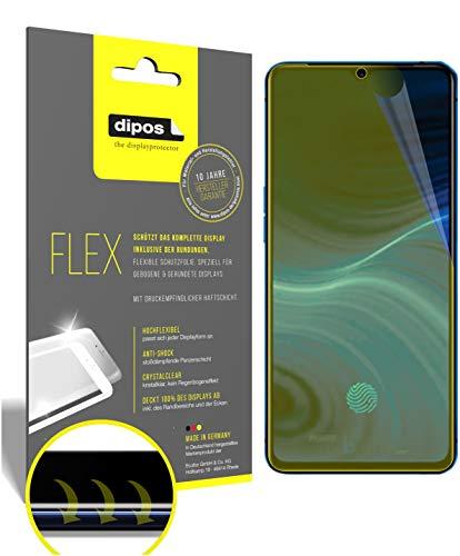 dipos I 3X Schutzfolie 100prozent kompatibel mit Oppo Realme X2 Pro Folie I 3D Full Cover Bildschirmschutzfolie