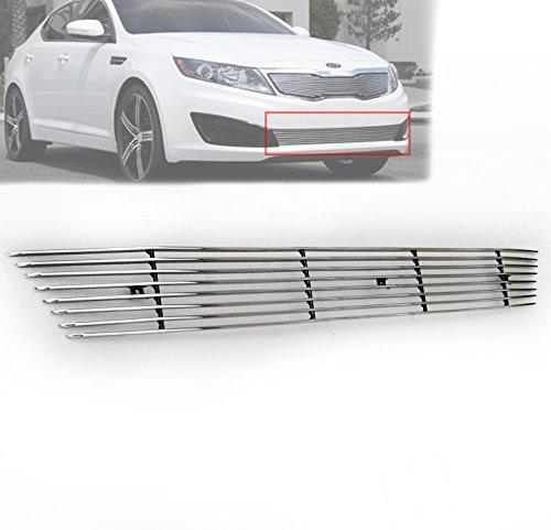 ZMAUTOPARTS For EX LX Sx Sedan Front Bumper Lower Billet Grille Grill Insert Aluminum